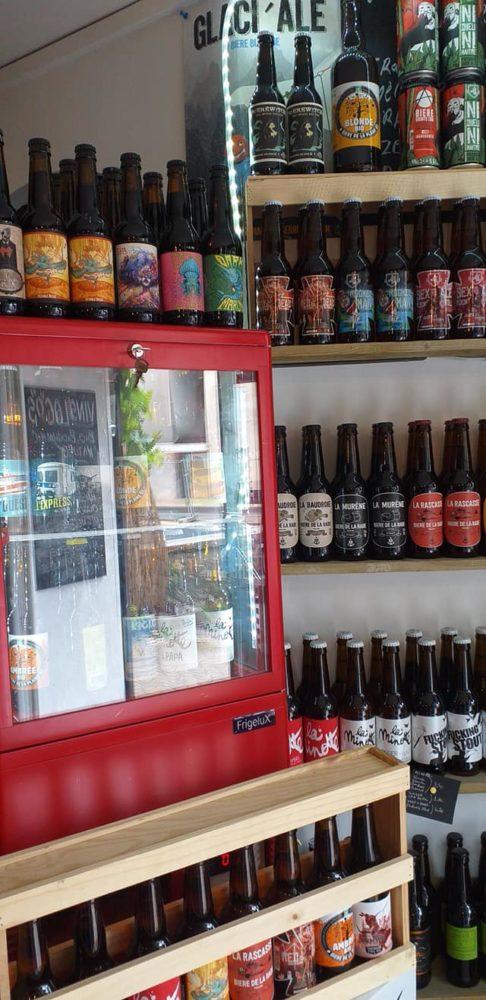Bières provençales à la cave le Grappillon à Sat Zacharie