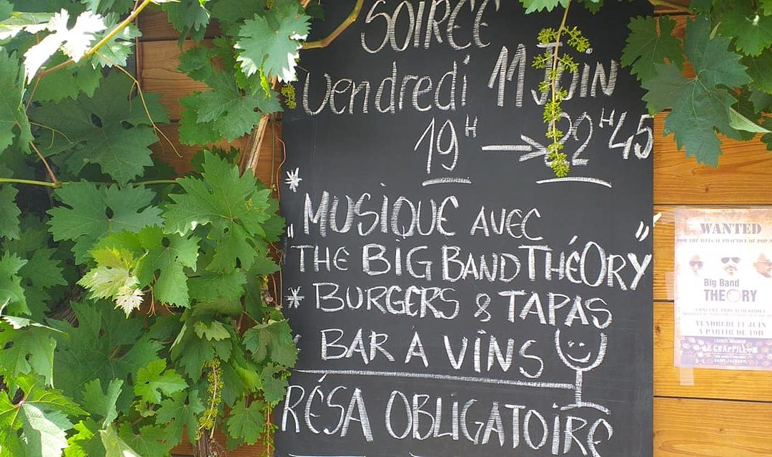 Apéros tonneaux/musique vendredi 11 juin au Grappillon